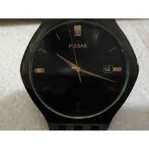 Reloj Seiko Pulsar Vintage Ojo De Tigre Acero Pavonado