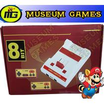 Family Game Modelo Retro Completo + Mario 8 Juegos Local