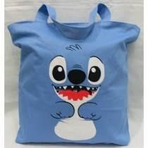 Bolsa De Tecido (tipo Sacola) Lilo Stitch