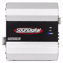 Modulo Amplificador Sd 2500w Rms Sd2500 Digital 1 Ohms