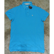 Camisa Camiseta Polo Masculina Abercrombie & Fitch Original