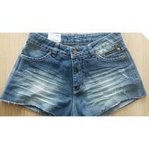 Short Jeans Feminino Patoge