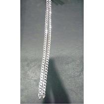 Pulseira Prata 925 Original - Corrente Modelo Grumet