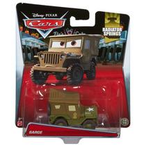 Cars Disney Pixar Sarge Radiator Springs Mattel Delicias3