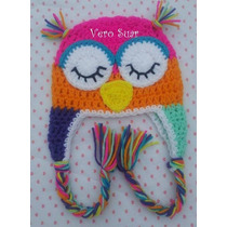 Gorros Tejidos Al Crochet Niños - Bebes -