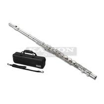 Flauta Traversa Jupiter Nuova Nfl-3es Con Estuche