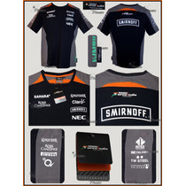 Playera Sahara Force India F1 Producto Genuino Sergio Perez