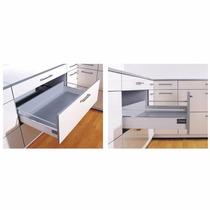 Cajón Con Telescópica Soft De 500 Mm Mueble Cocina Placard