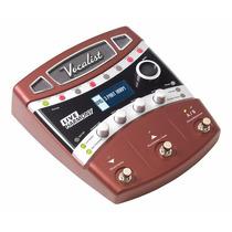 Pedal Digitech Vlhm Procesador Efectos Vocales Live Harmoy