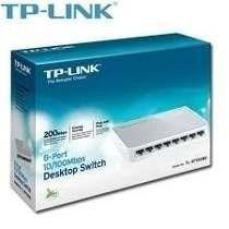 Switch Tp-link 8 Puertos Tl-sf1008d 10/100rj-45 Equiprog