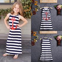Vestido Marinheira Menina Importada