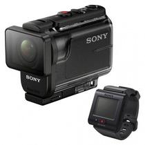 Filmadora Sony Action Cam Hdr-as50r Com Telecomando Live-vie