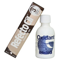 Tintura + Oxidante Cílios Sobrancelha Refectocil Castanho 3