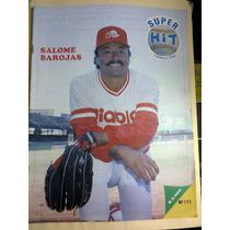 Beisbol México Super Hit Salomé Barojas Diablos Rojos 1991