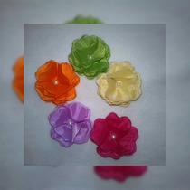Flores De Tela Tipo Rosas, Cintillos, Coronas De Flores 5cm