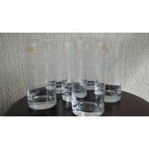 Conjunto De Copos Para Suco Ou Água Cristal Blumenau