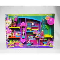 Polly Pocket Casa De Surpresas Da Polly Mattel