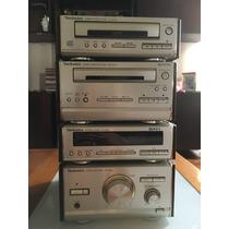 Technics Se Hd-501 Sistema Estéreo Em Modulos Vintage
