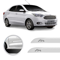 Friso Lateral Ford Ka Sedan 2013 Branco Artico
