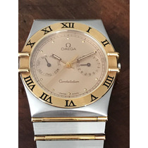 Relógio Omega Constellation Em Ouro E Aço