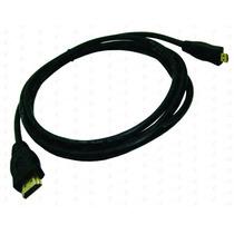 Cable De Micro Hdmi A Hdmi 4k 2.0 Nisuta - 2 Mts - Id Go Pro