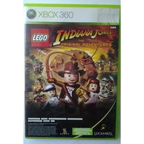 Xbox 360 Lego Indiana Jones & Kung Fu Panda $320 Pesos V / C
