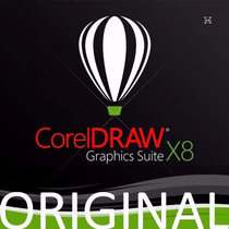 Corel Draw X8 Original 1 Pc