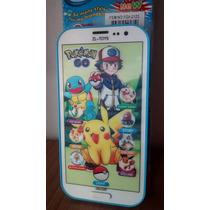 Celular Pokemon 3d Pikachu Educativo Toque Crianças Música