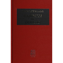 Libro Elementos De Derecho De Moto Salazar Ed Porrúa