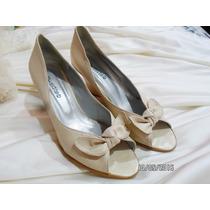 Zapatos De Novia O 15 Años Nº 39 Impecables