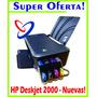 Impresora Hp Deskjet 2000 Nueva De Paquete - Full Color!