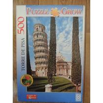 Quebra Cabeça - Puzzle - Torre De Pisa - 500 Peças - Grow