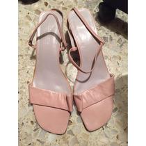 Liz Claiborne Sandalia Dama Rosa Pink Soft Tacón 5 Cm