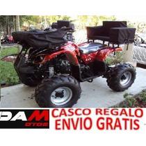 Cuatrimoto Hunter 10c 125cc Automatica, Reversa Damotos