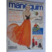 Revista Manequim Ago 96 E. Aniversário Xuxa É Estrela Festa