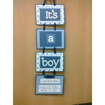 Bienvenidos, Letreros Para Puertas O Baby Sower
