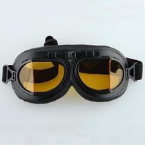 Óculos Goggle Old Scholl Aviador Motociclista Chopper Harley