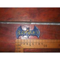 Batman,antiguo Broche De Plástico Suave