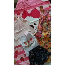 Kit Bebê 3.6m Vestido Conjunto Blusa, Toalha Lilica Ripilica
