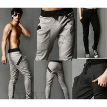 Pants Baggy Jogger Capri Entubado Moda Japonesa Asitica