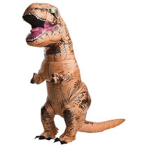 Fantasia Inflável T Rex Tiranossauro Dinossauro Cosplay Real
