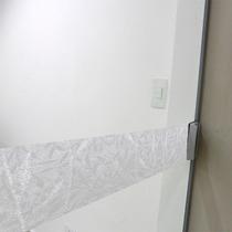 Faixa Adesivo Jateado P/ Portas De Vidro Selva - 10x100cm