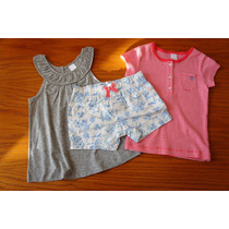 Conjunto 3 Piezas Vestido Marca Carters Para Niña 3 Años