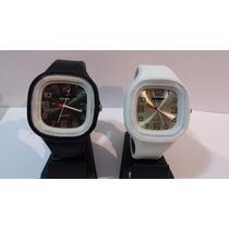 Reloj De Silicona Mujer Pulsera C/ Estuche Regalo Garantia
