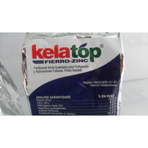 Kelatop Fierro Zinc 1kg Fertilizante Quelatos Uso Agricola