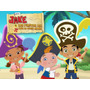 Kit Imprimible Jake Y Los Piratas Invitaciones Candy Bar