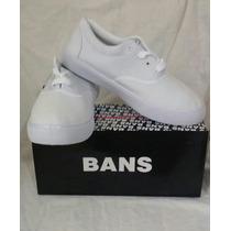 Zapatos Deportivos Bans Talla 42 Blanco Dama Caballero