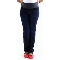 Calça Jeans Gestante Aline