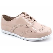 Sapato Oxford Infantil Molekinha Original 2160108 Pixolé