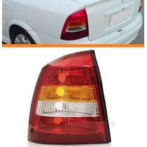 Lanterna Traseira Astra Sedan 98 99 00 02 Tricolor Esquerdo